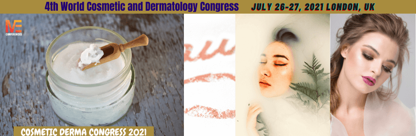 COSMETIC DERMA CONGRESS 2021 | July 26-27, 2021 London, UK - Cosmetic Derma Congress 2021