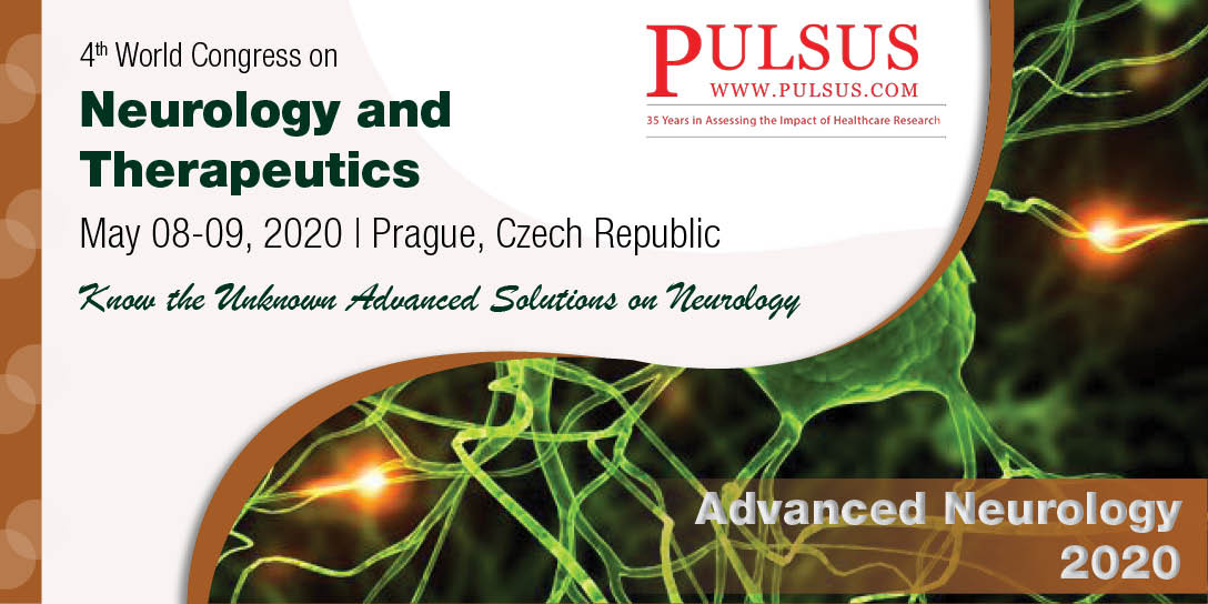 4th World Congress on Neurology and Therapeutics , Prague,Czech Republic