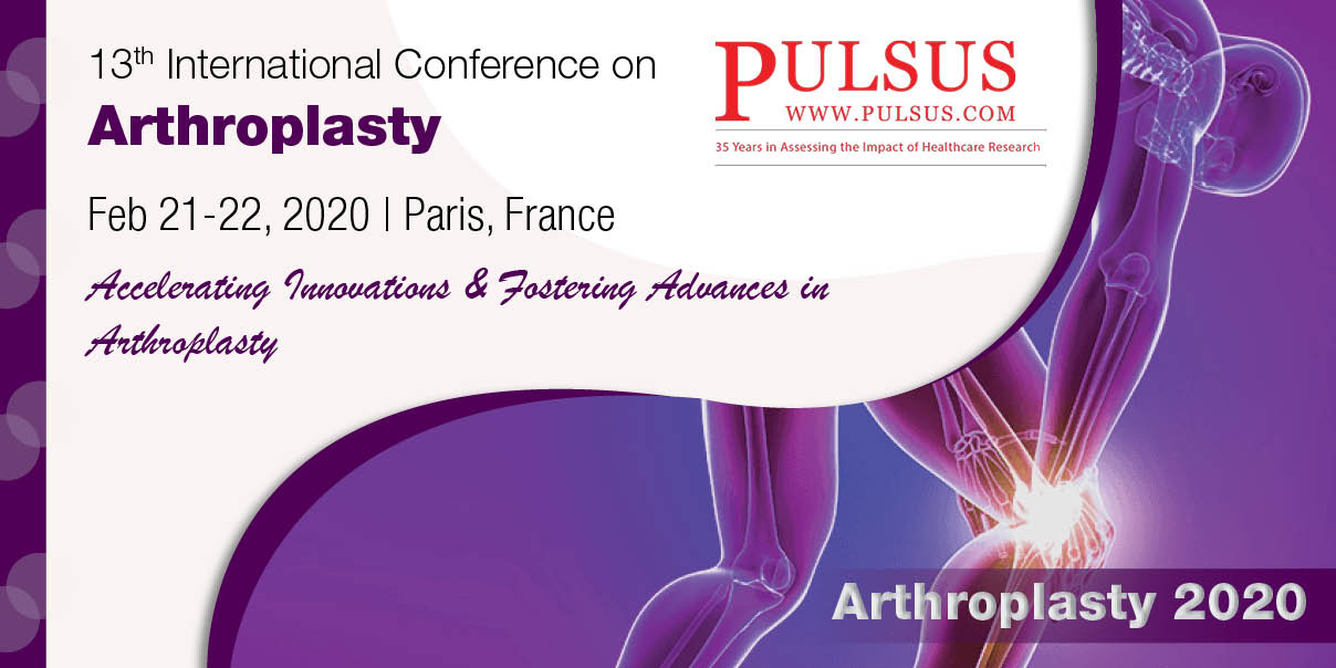 13th International Conference on Arthroplasty,Paris,France