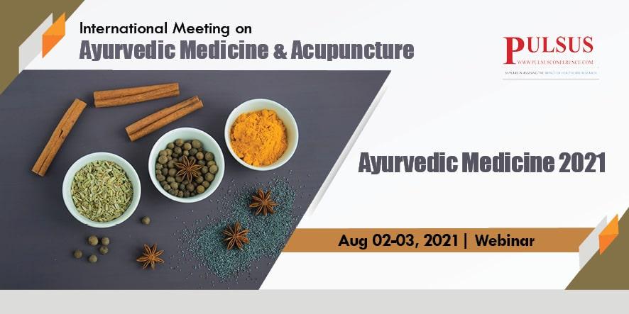 World Congress on Ayurvedic Medicine, Traditional Chinese Medicine & Acupuncture , London,UK