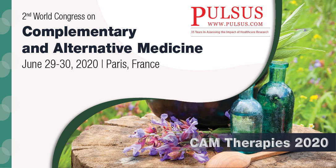 2nd World Congress on Complementary and Alternative Medicine , Paris,France