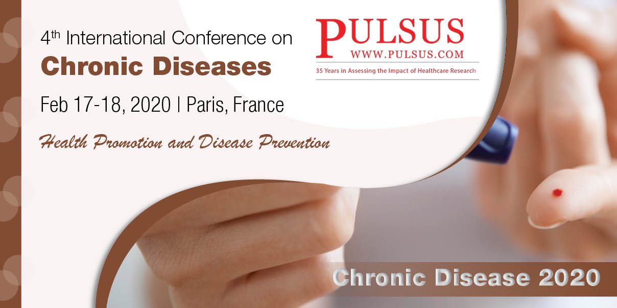 4th International Conference on Chronic Diseases,Paris,France