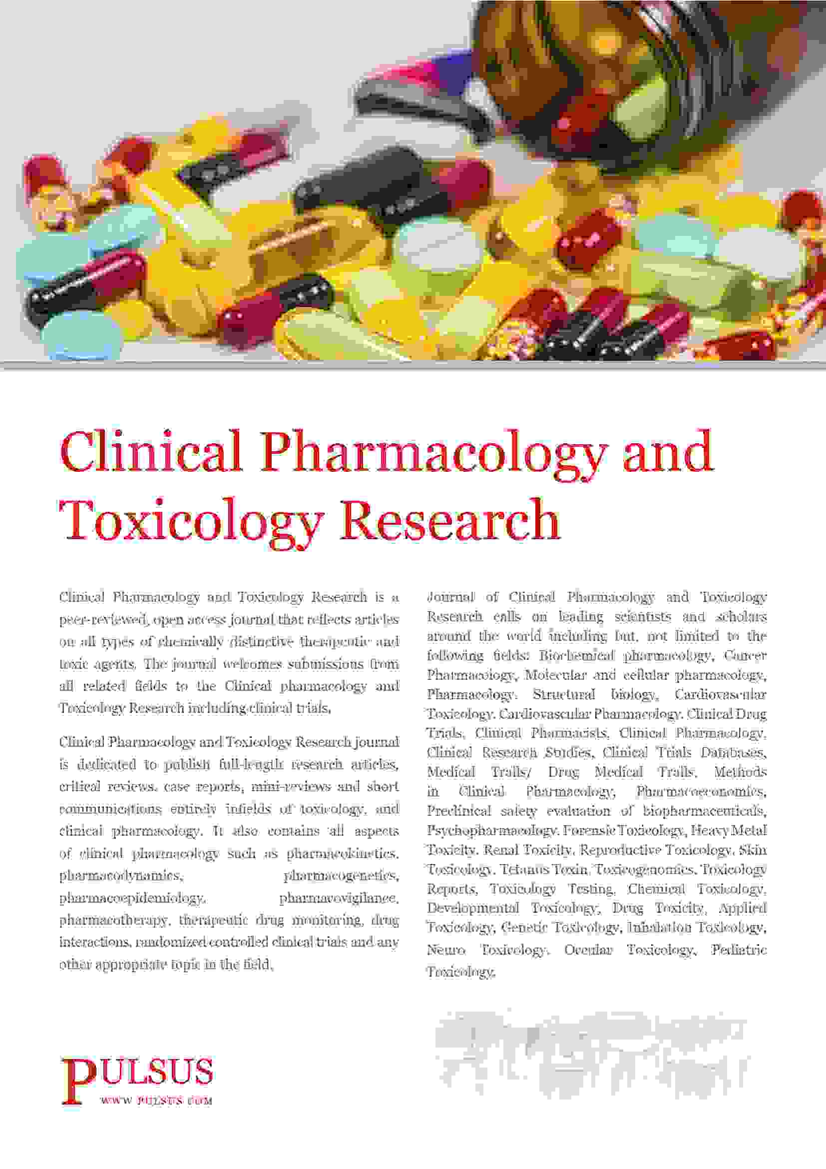 clinical pharmacology and toxicology