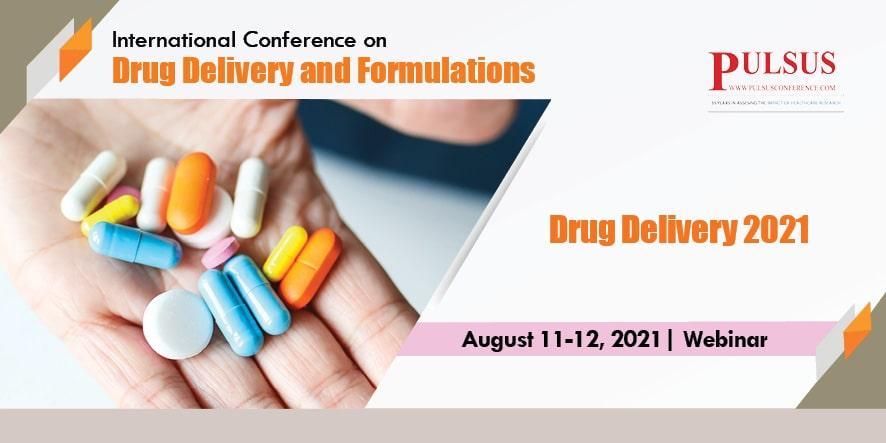 5th International Conference on Drug Delivery and Formulations , London,UK
