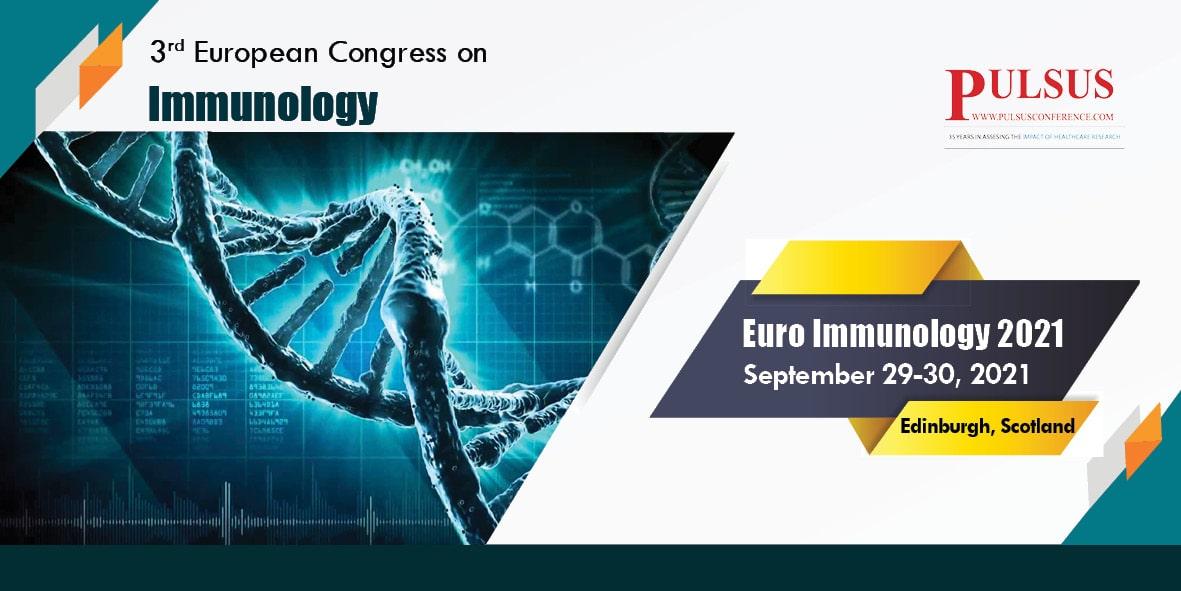 3rd European Congress on Immunology , Edinburgh,Scotland