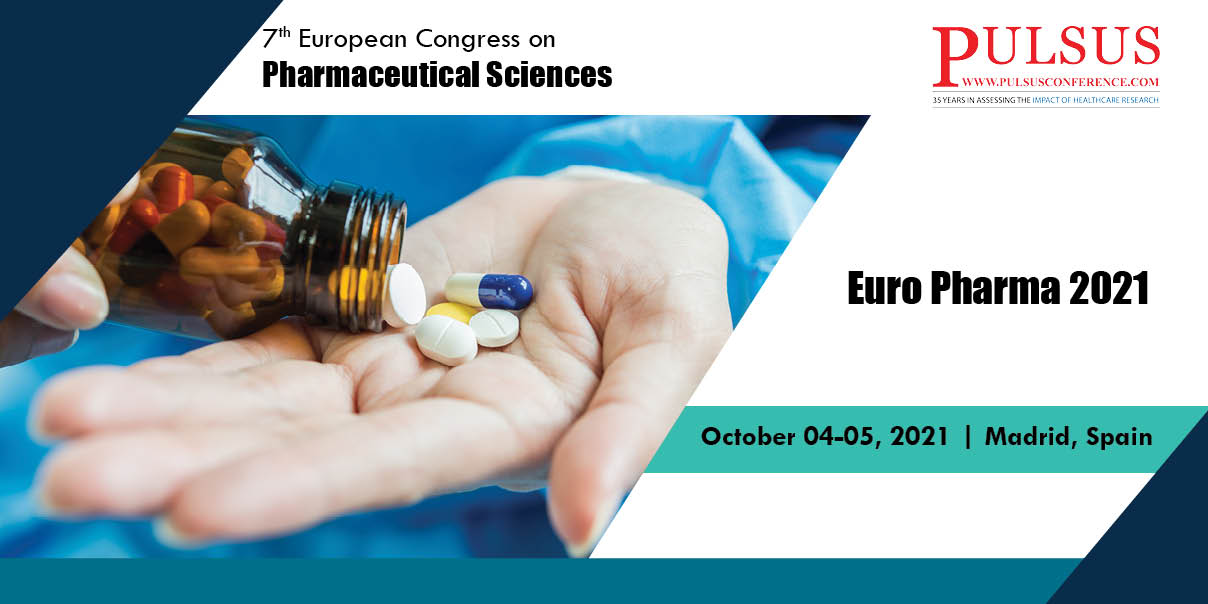 7th European Congress on Pharmaceutical Sciences , Madrid,Spain