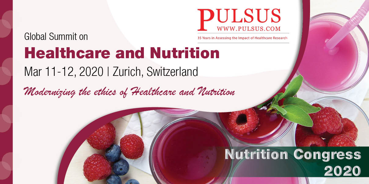 Global Summit on Healthcare and Nutrition ,Zurich,Switzerland