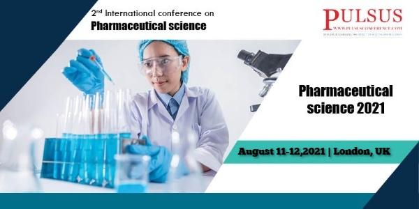 International conference on Pharmaceutical science , London,UK