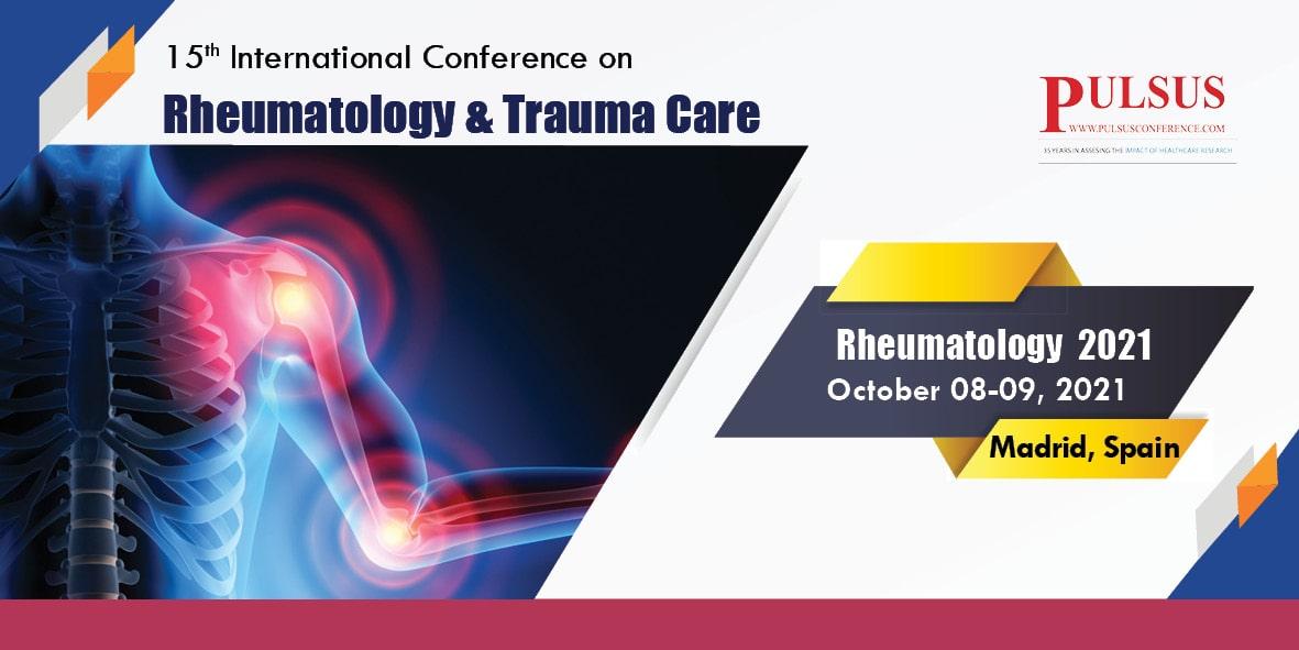 15th International Conference on Rheumatology & Trauma Care  , Zurich,Spain