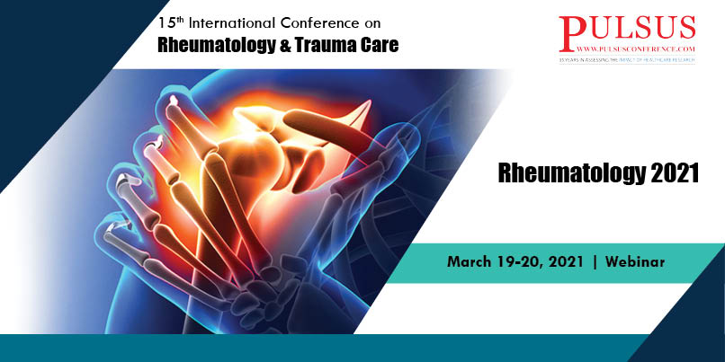 15th International Conference on Rheumatology & Trauma Care  , Zurich,Switzerland