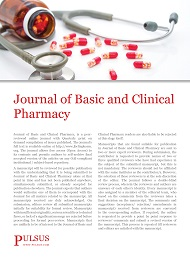 Journal of Basic and Clinical Pharmacy (JBCP)