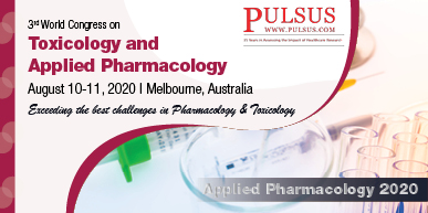 3rd World Congress on Toxicology and Applied Pharmacology , Melbourne,Australia