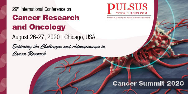 29th International Conference on Cancer Research and Pharmacology , Chicago,USA