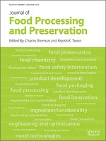 Journal of Food Processing and Preservation