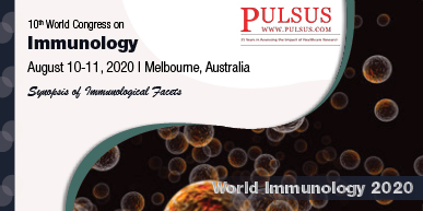 10th World Congress on Immunology (webinar) , Melbourne,Australia