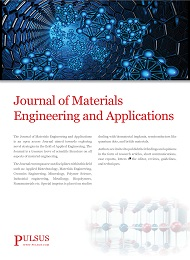Journal of Materials Engineering and Applications