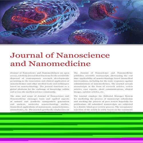 Journal of Nanoscience and Nanomedicine