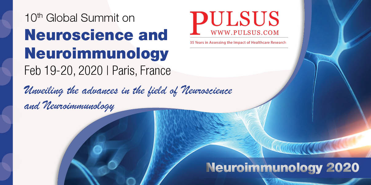 10th Global Summit on Neuroscience and Neuroimmunology,Paris,France