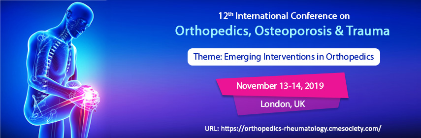Orthopedics 2019 | Orthopedics Conferences | Orthopedics