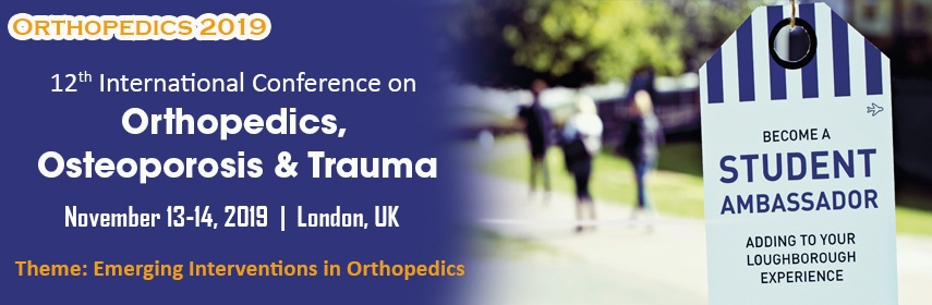 Orthopedics 2019 | Orthopedics Conferences | Orthopedics Events