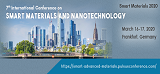 7th International Conference on Smart Materials and Nanotechnology , Frankfurt,Germany
