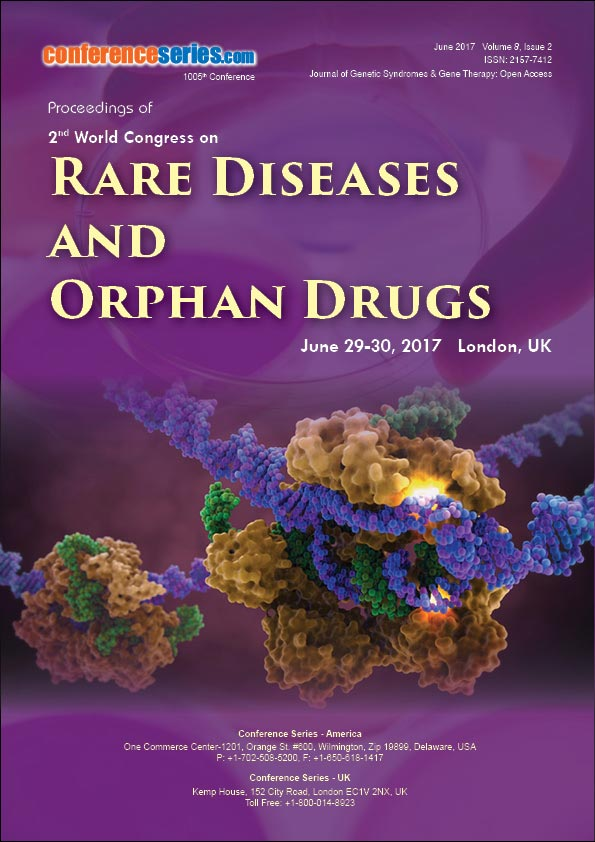 2nd World Congress on Rare Diseases and Orphan Drugs