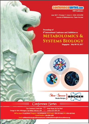 Metabolomics Congress 2017 Conference Proceedings