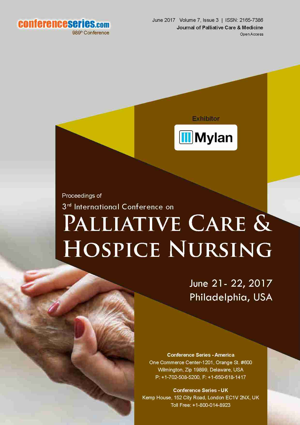 3rd International Conference on Palliative Care & Hospice Nursing