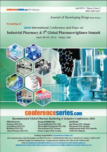 Global Pharmacovigilance 2016 Proceedings