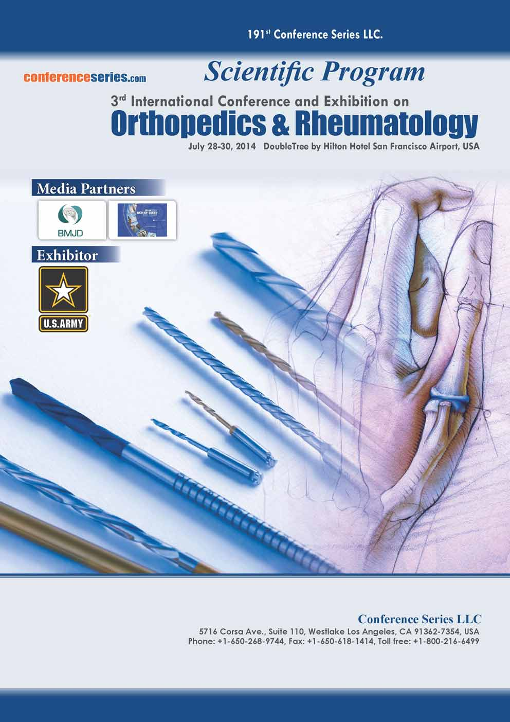 Orthopedics 2014 Conference Proceeding