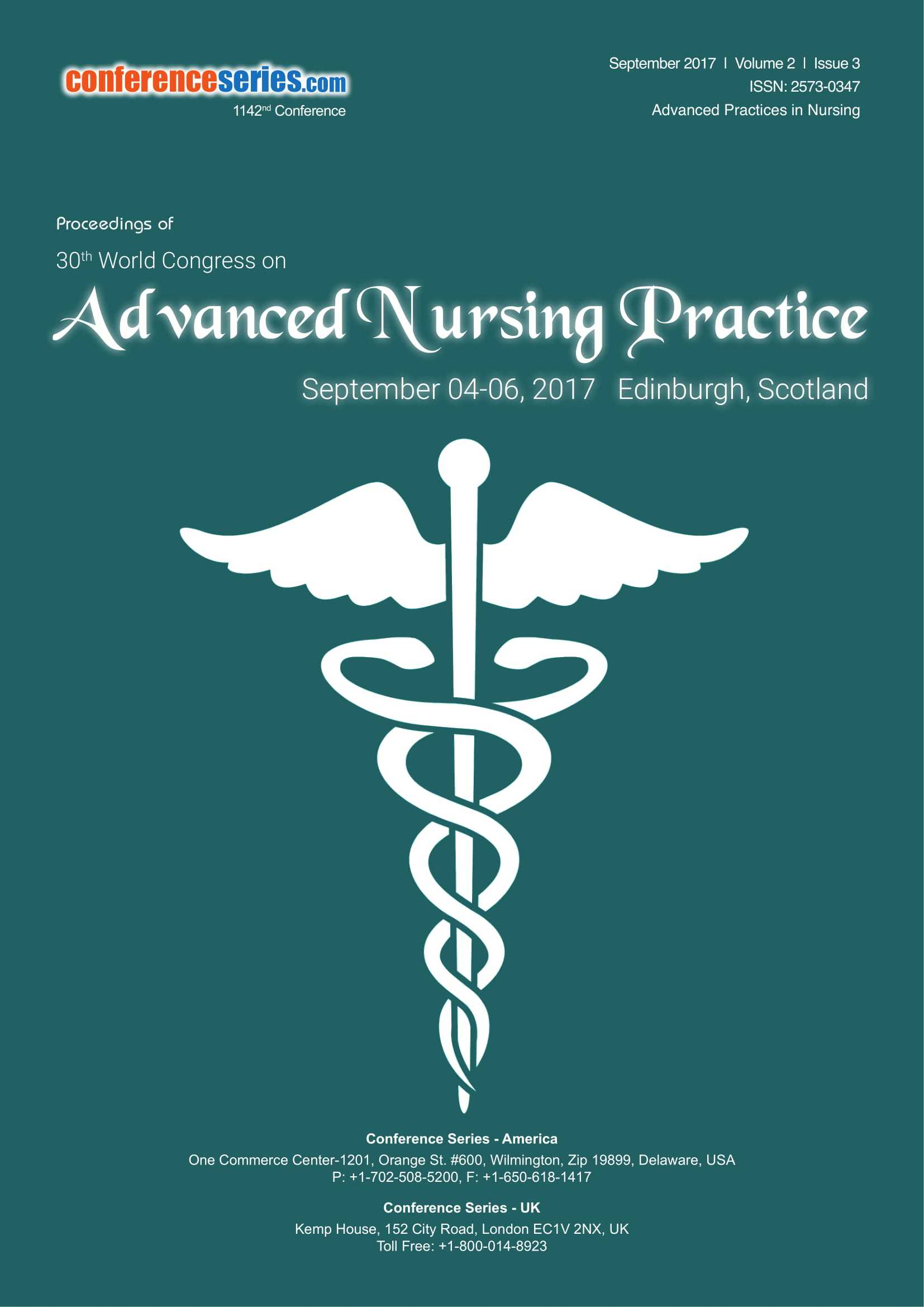 Advanced Nursing Practice 2017 proceedings