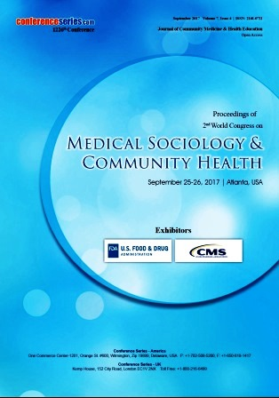 Medical Sociology and Community Health 2017 Conference Proceedings