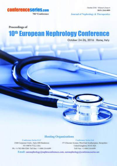 Euro Nephrology 2016 proceedings