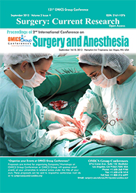 Surgery-Anesthesia 2013 Proceedings