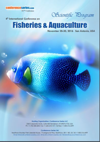 4th international conference on Aquaculture and Fisheries