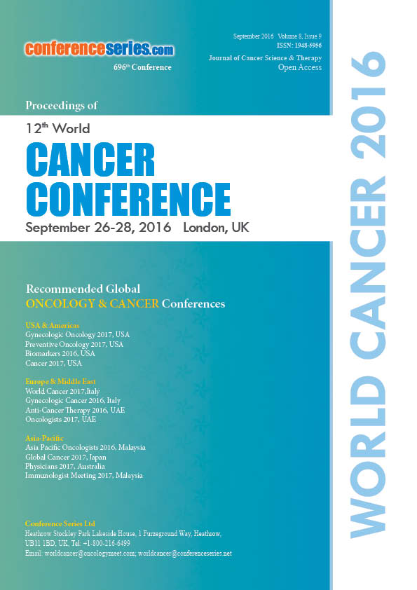 Cancer Conference and Oncology Conference 2016