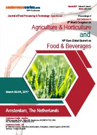 Joint Conference on 8th World Congress on Agriculture and Horticulture and 16th Euro Global Summit on Food and Beverages 2017
