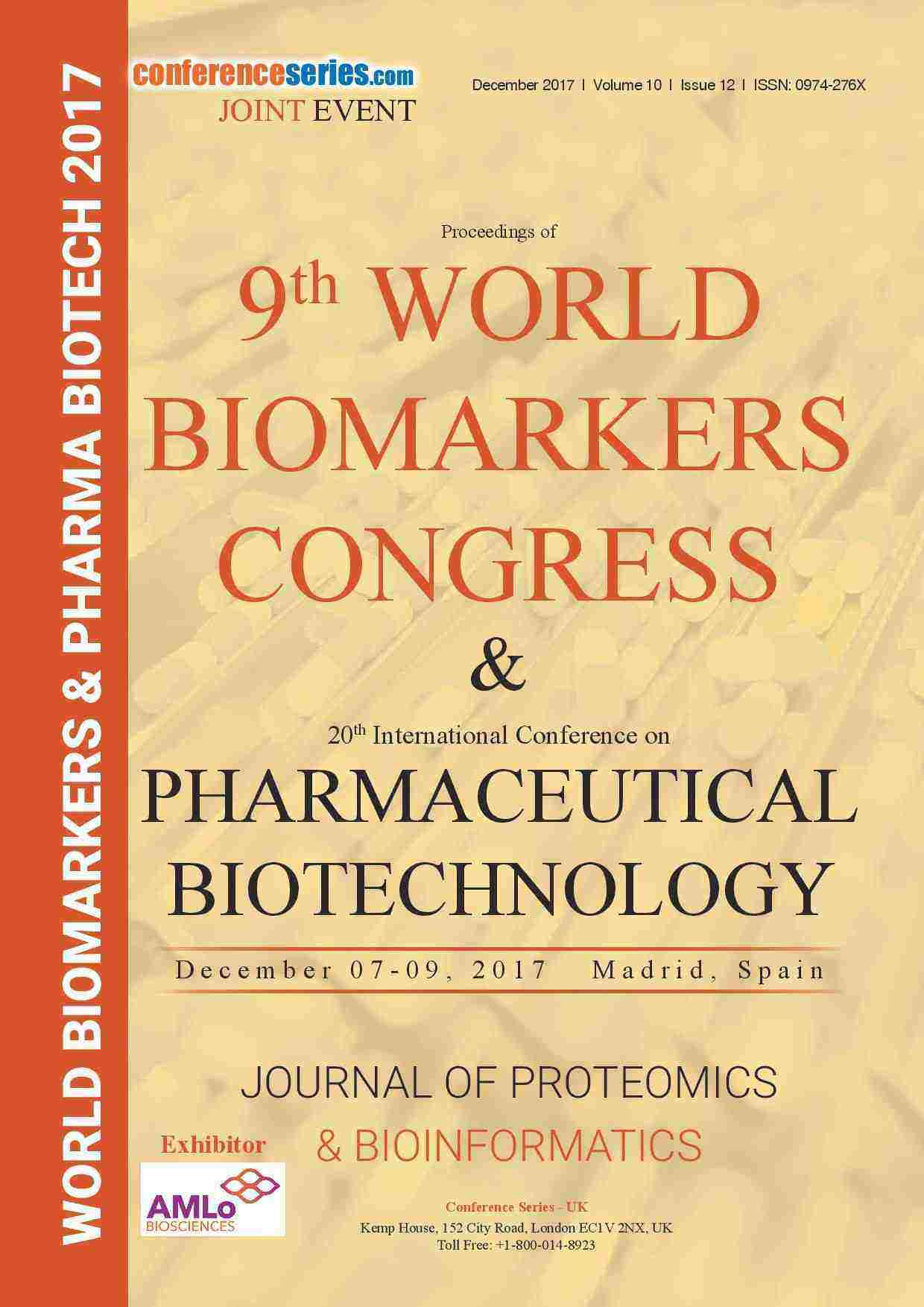 9th World Biomarkers Congress