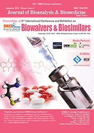 Biosimilars 2013 Conference Proceedings