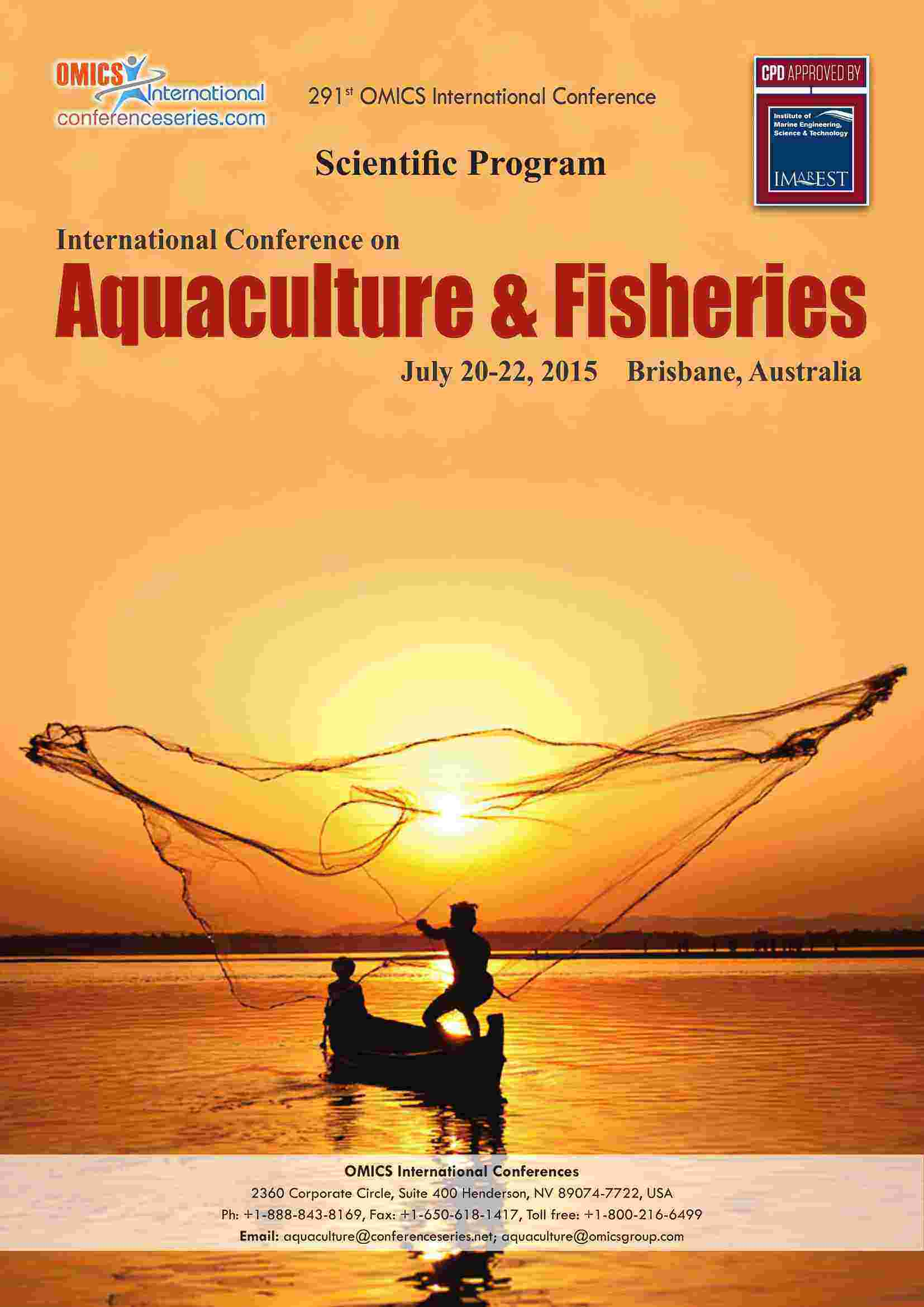 Aqua culture proceedings 2015