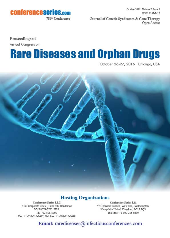 Rare Diseases 2016 Proceedings