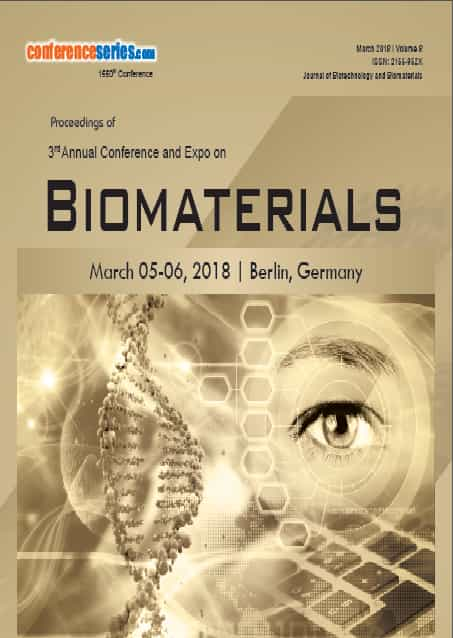 3rd Annual Conference and Expo on Biomaterials