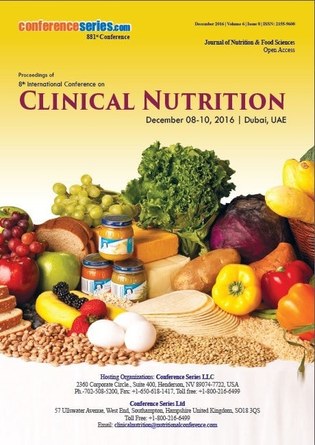 Proceedings of Nutrition & Pediatrics 2016 Conference