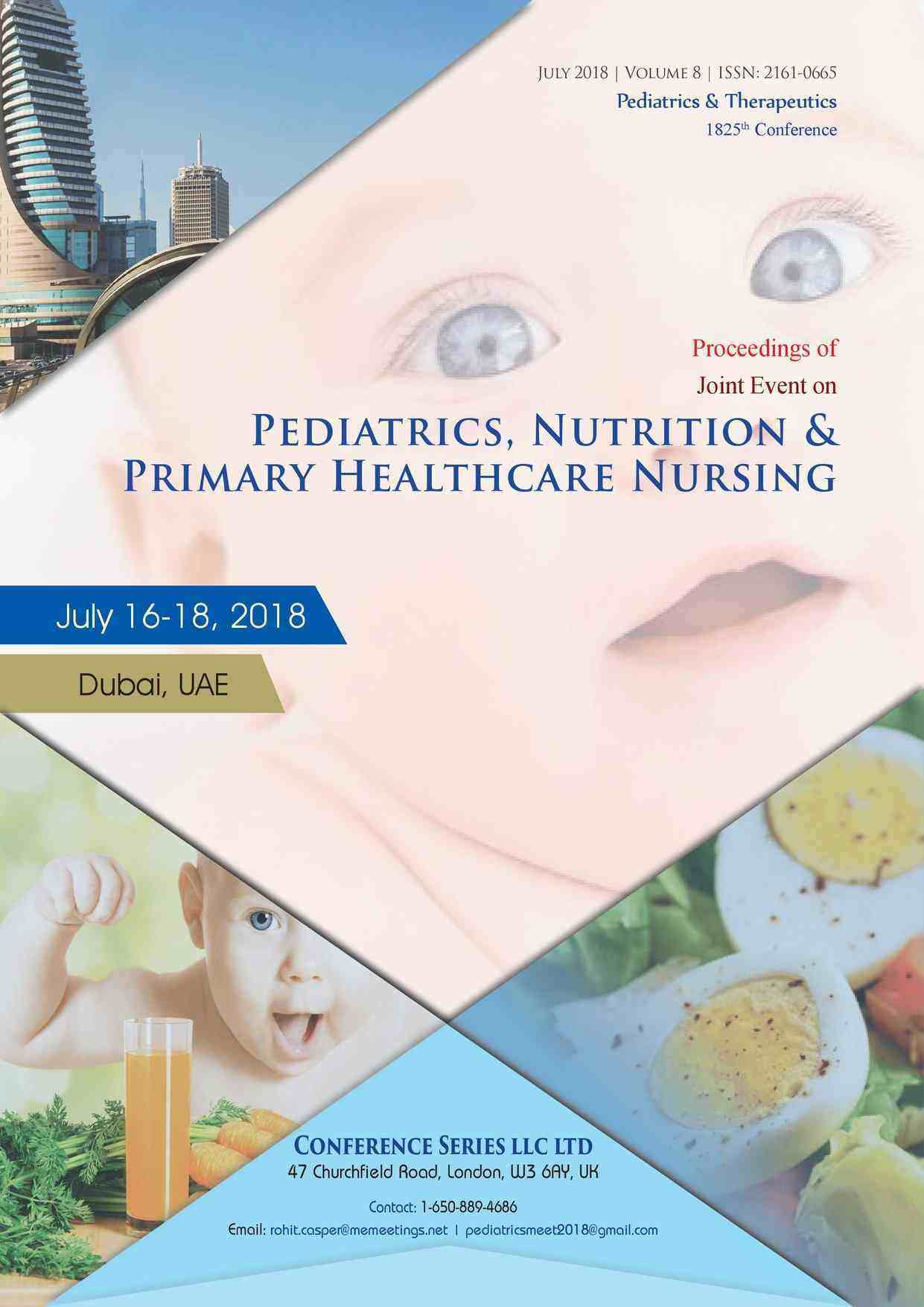 Proceedings of Nutrition & Pediatrics 2018