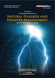 Natural Hazards Congress 2018 July 26-27, 2018 Melbourne, Australia