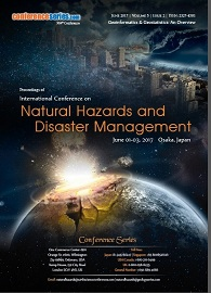 Natural Hazards Congress-2017 June 01-03, 2017 Osaka, Japan