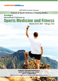 International Conference on Sports Medicine and Fitness March 23-25, 2015 Chicago, USA