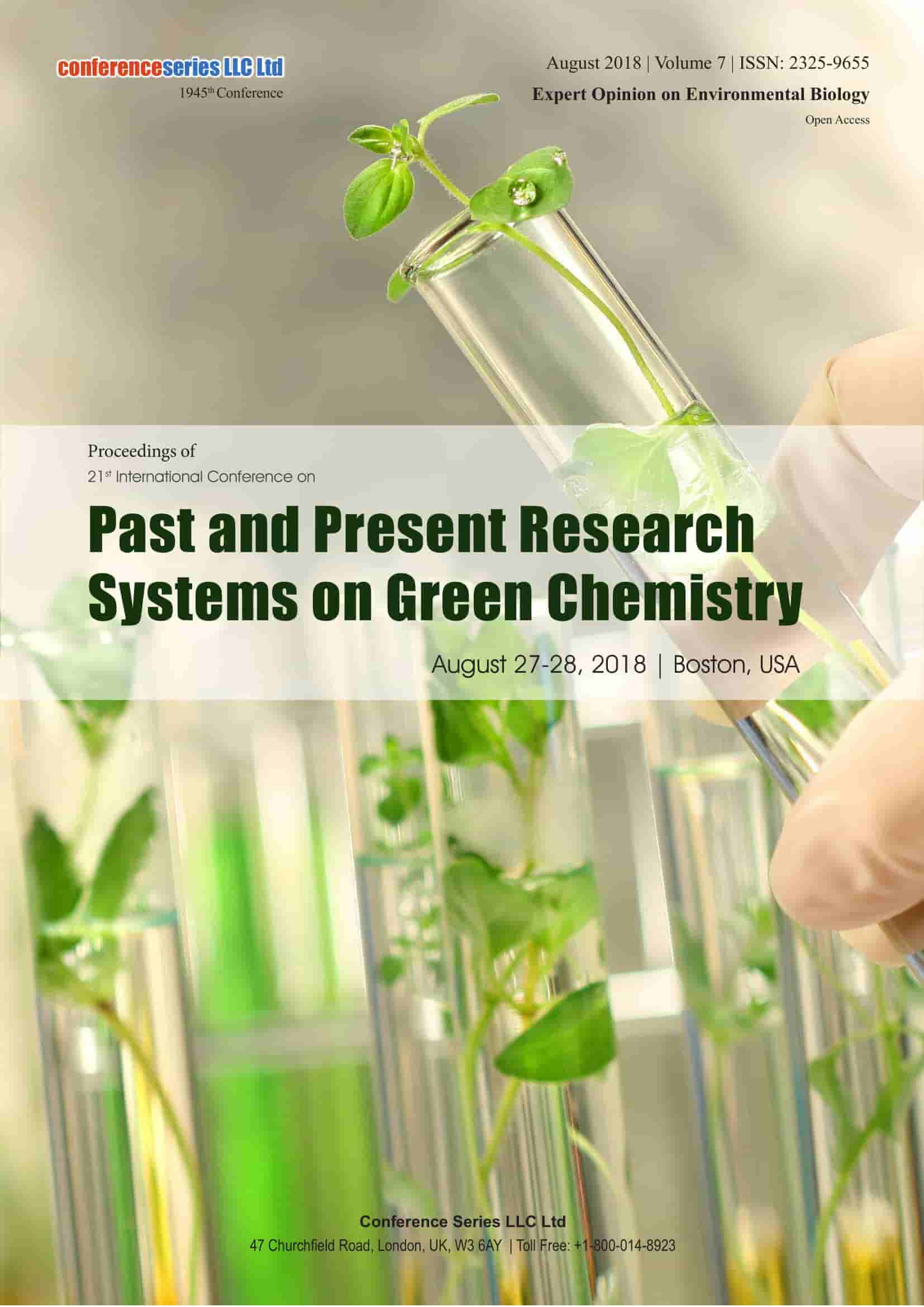 Proceedings | Green Chemistry 2018