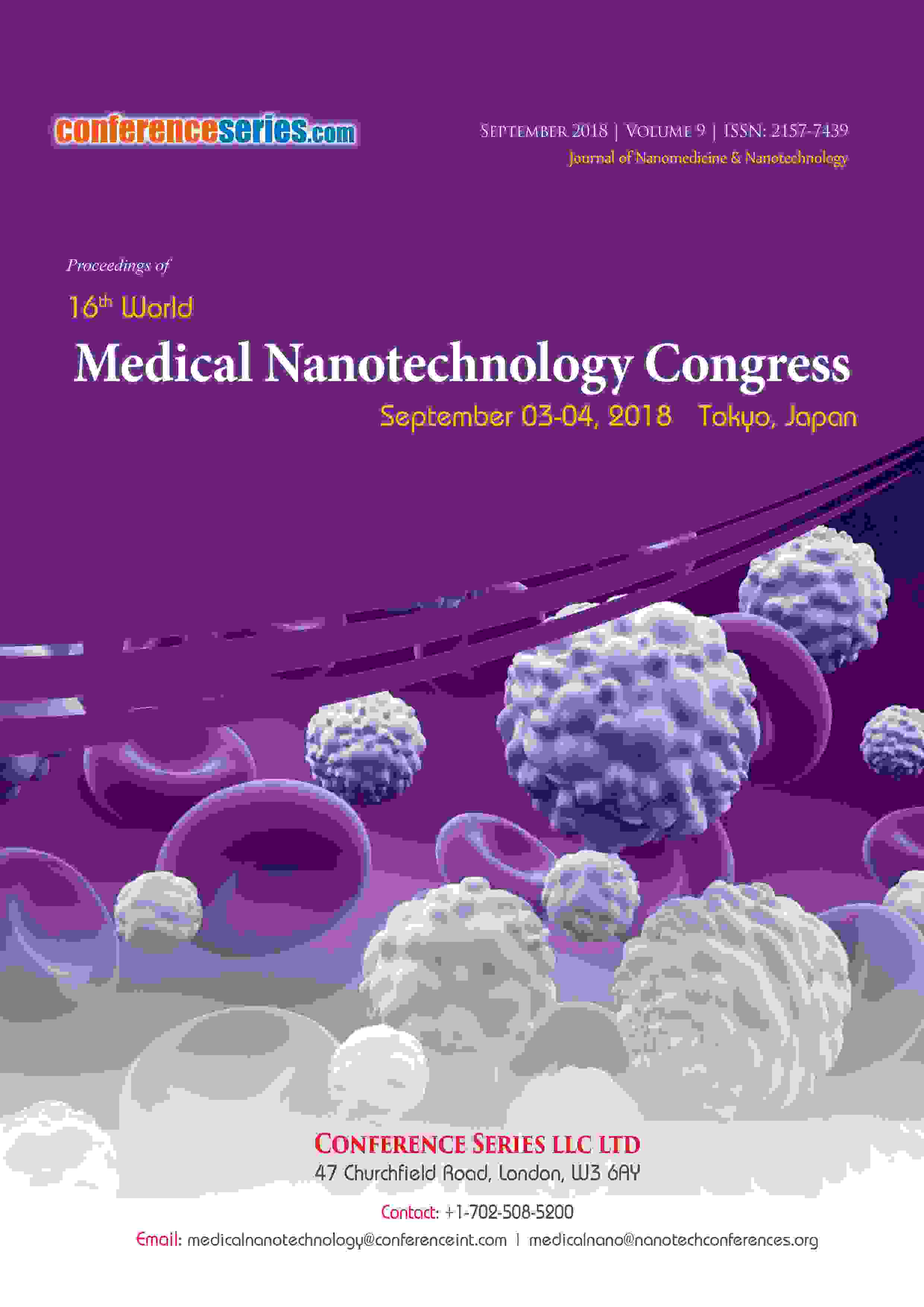 Medical Nanotechnology 2018 Proceedings