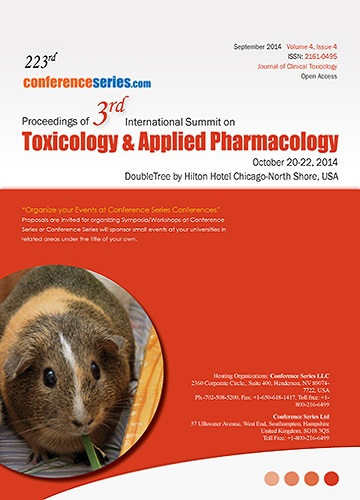 3rd International Summit on Toxicology & Applied Pharmacology 201